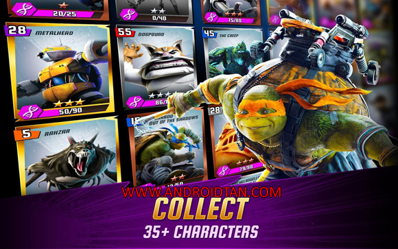 Ninja Turtles Legends Mod Apk for Android