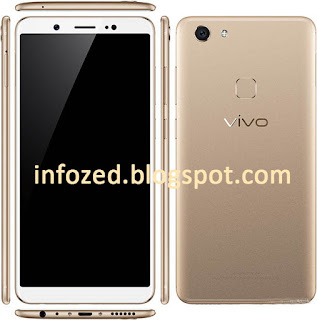 "VIVO V7 Screen Size 5.7"" 4 GB RAM FM Radio with Recording 3000 mAh Battery 16 Mega Pixel Primary Front Camera 5 Mega Pixel Secondary Camera GSM / HSPA / LTE / 4G Network Android 7.1.2 Nougat Operating System 32 GB Internal Memory Colors 