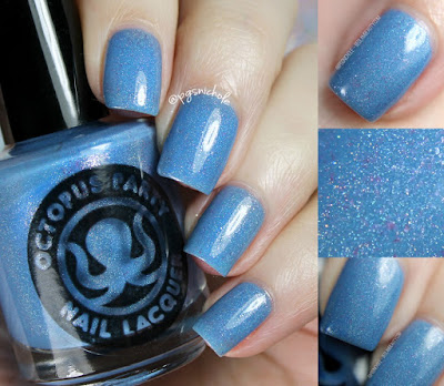 Octopus Party Nail Lacquer Something Borrowed, Something Blue