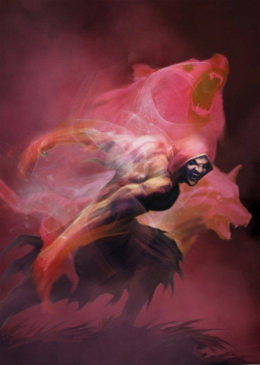 Matt Forsyth artstation deviantart arte ilustrações fantasia terror sombrio games