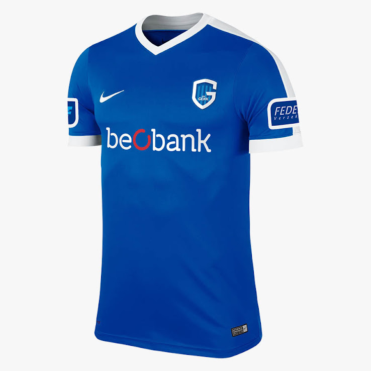 Krc Genk 17 18 Home Away Third Kits Released Footy Headlines