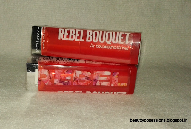Maybelline Rebel Bouquet Lipsticks REB 04 and REB 05 - Review,Price & Swatches...