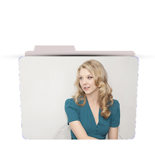 Preview of Natalie Dormier, Actress, Wallpaper Folder Icon.