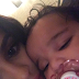 Photo: Kylie Jenner cuddles her sleepy niece, Dream