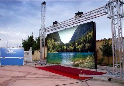 Phân phối, lắp đặt màn hình led p4 chính hãng tại Quảng Ngãi