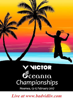 Victor Oceania Championships 2017 live streaming