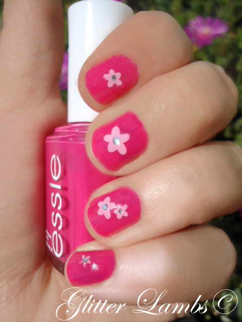 Glitter Lambs: Essie Nail Polish -Fiesta Pink Nail Polish With ...