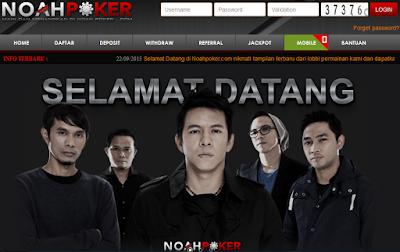 Sensasi Situs Noahpoker.net Agen Poker Online Terpercaya