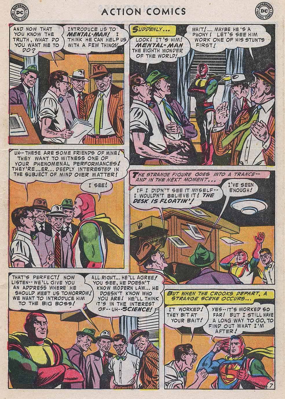 Read online Action Comics (1938) comic -  Issue #196 - 9