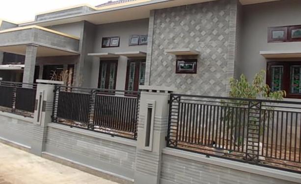 Model  pagar  rumah  minimalis  modern update Contoh