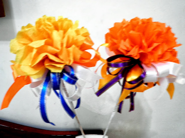 bunga telur tisu