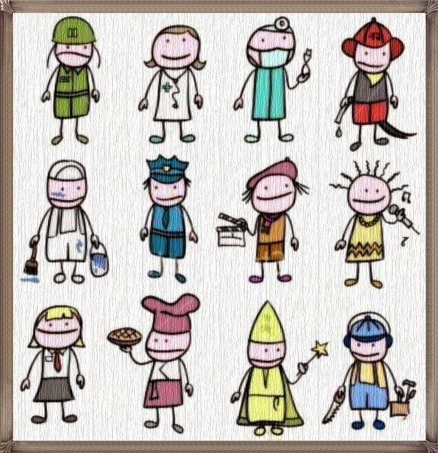 Gambar Mewarnai Profesi Bagian 2 Anak Cemerlang Dokter Wanita