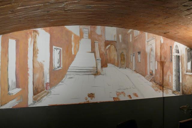 Aranżacja biura, malowidło ścienne,Waszawa
