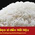 Gạo xi dẻo - Đặc sản vùng quê ven biển Hải Hậu