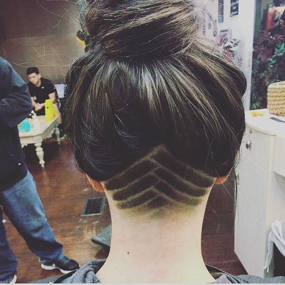 undercut hidden hairstyle