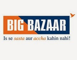 Big Bazaar Gift Voucher worth Rs.2000 for Rs.1900 @ Amazon (Hurry!! Limited Period Deal)