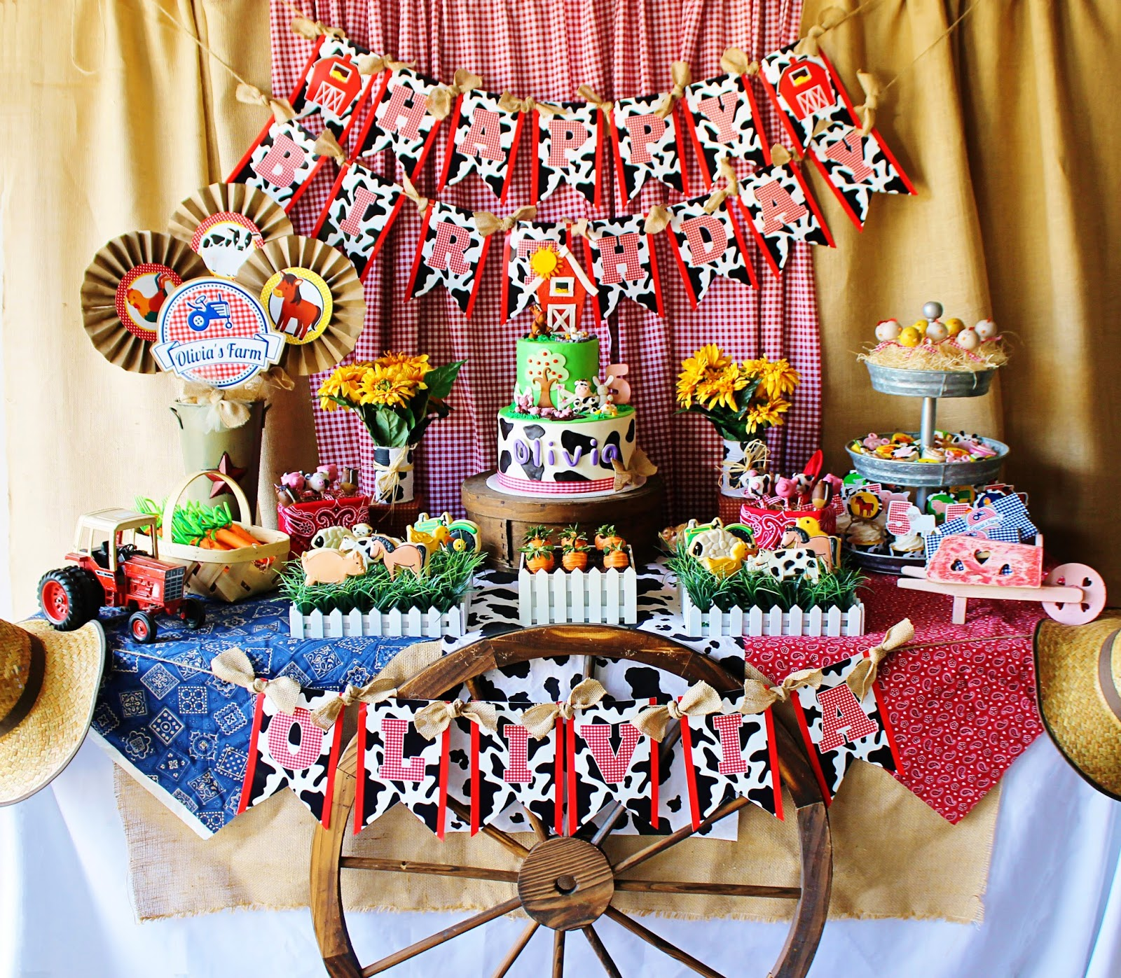 And Everything Sweet: Olivia's Farm Party