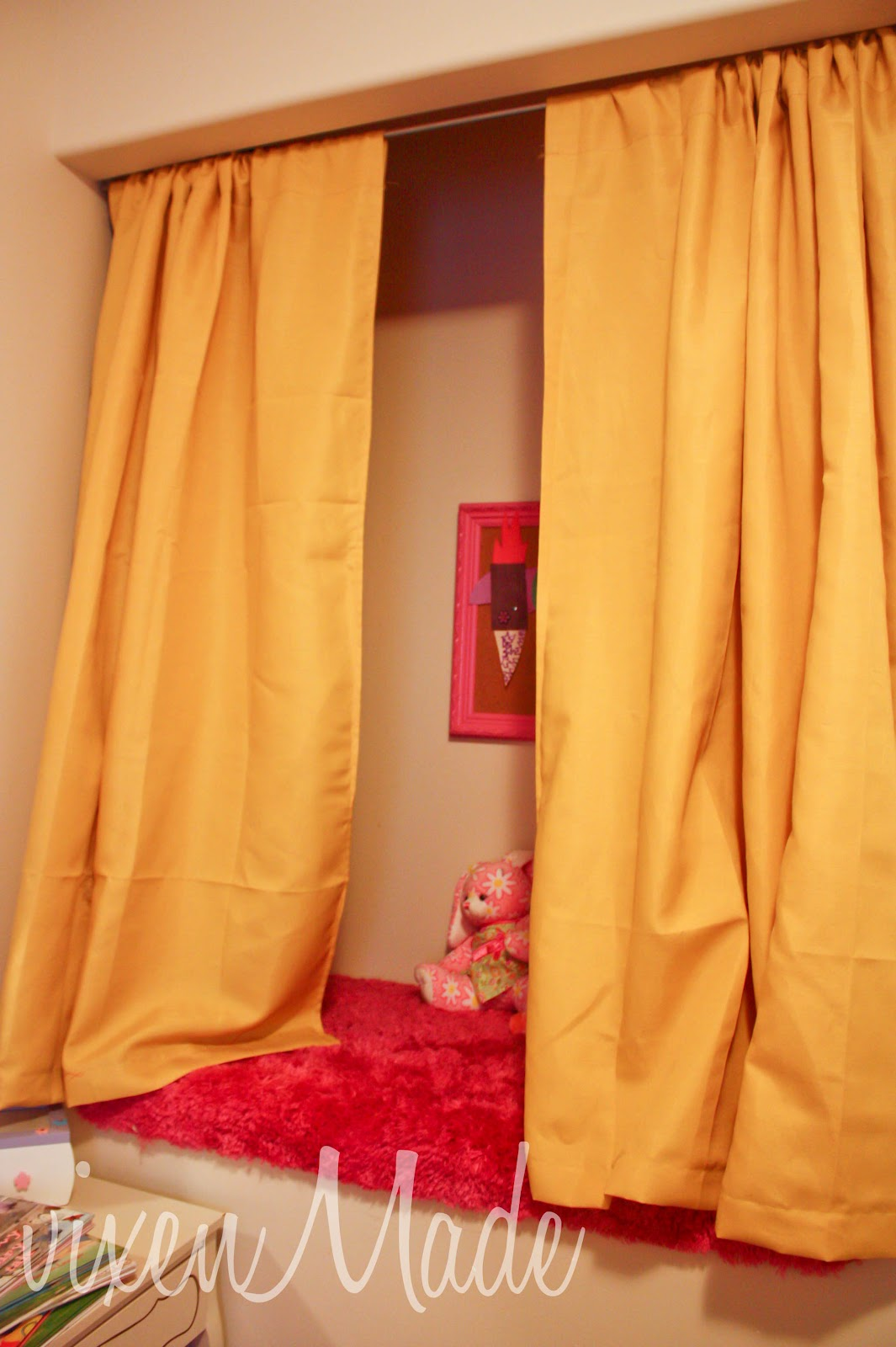 Reading Nook Curtains Vixenmade Parties
