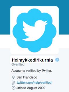 Cara Mendapatkan Centang Biru Twitter8