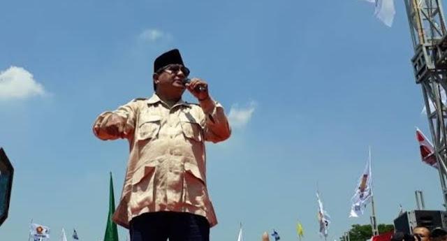 Prabowo Bicara Isu 'Menang tapi Tak Dilantik', TKN: Berbahaya!