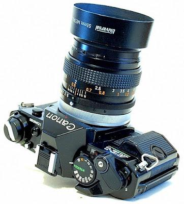 Canon AE-1 Program, Canon FD 50mm f/1.4 SSC