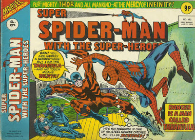 Super Spider-Man with the Super-Heroes #183, the Tarantula