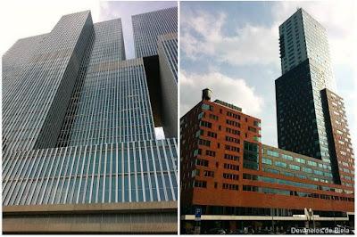 Dicas de roteiro por Rotterdam - arquitetura moderna