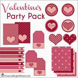 free valentines party printables