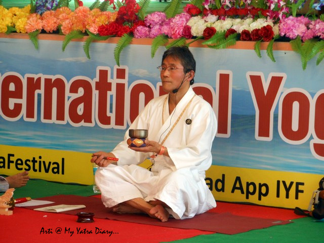 Shinto Yoga of Japan - International Yoga Day, Parmarth Niketan, Rishikesh