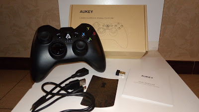 Controller game wireless AUKEY per PC smartphone e tablet