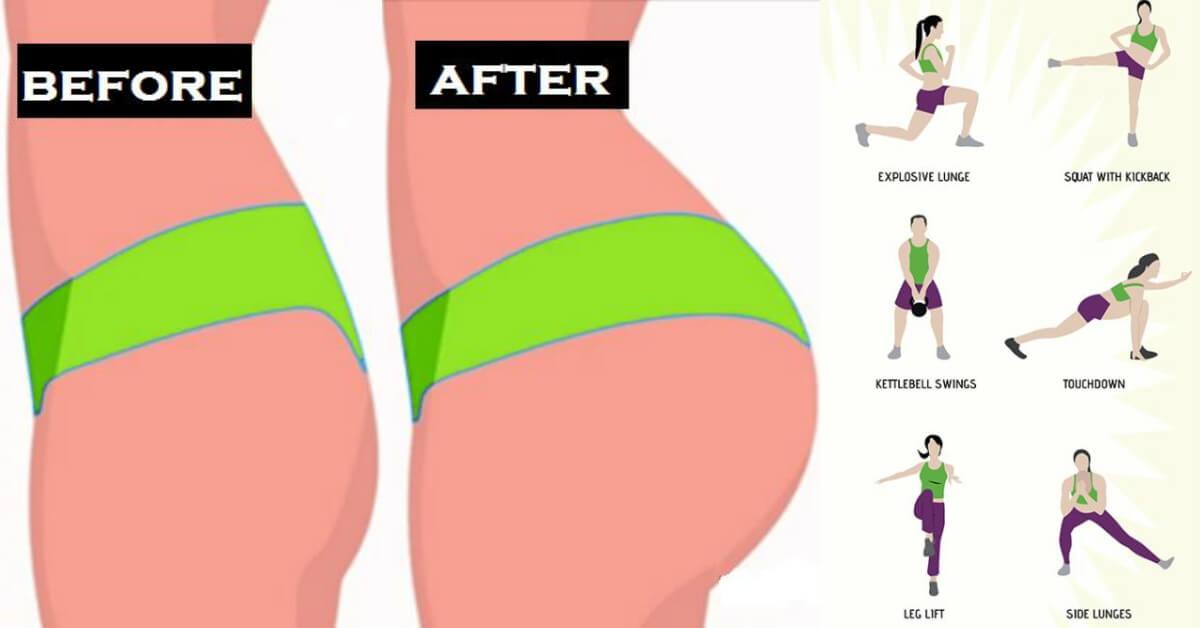11 Butt Lift Workout For Brazilian Butt - Body-Workouts-4173