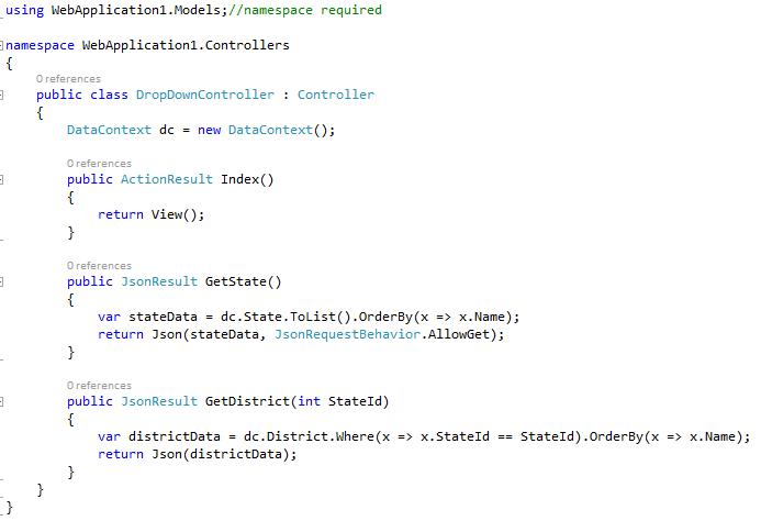 Adding controller class