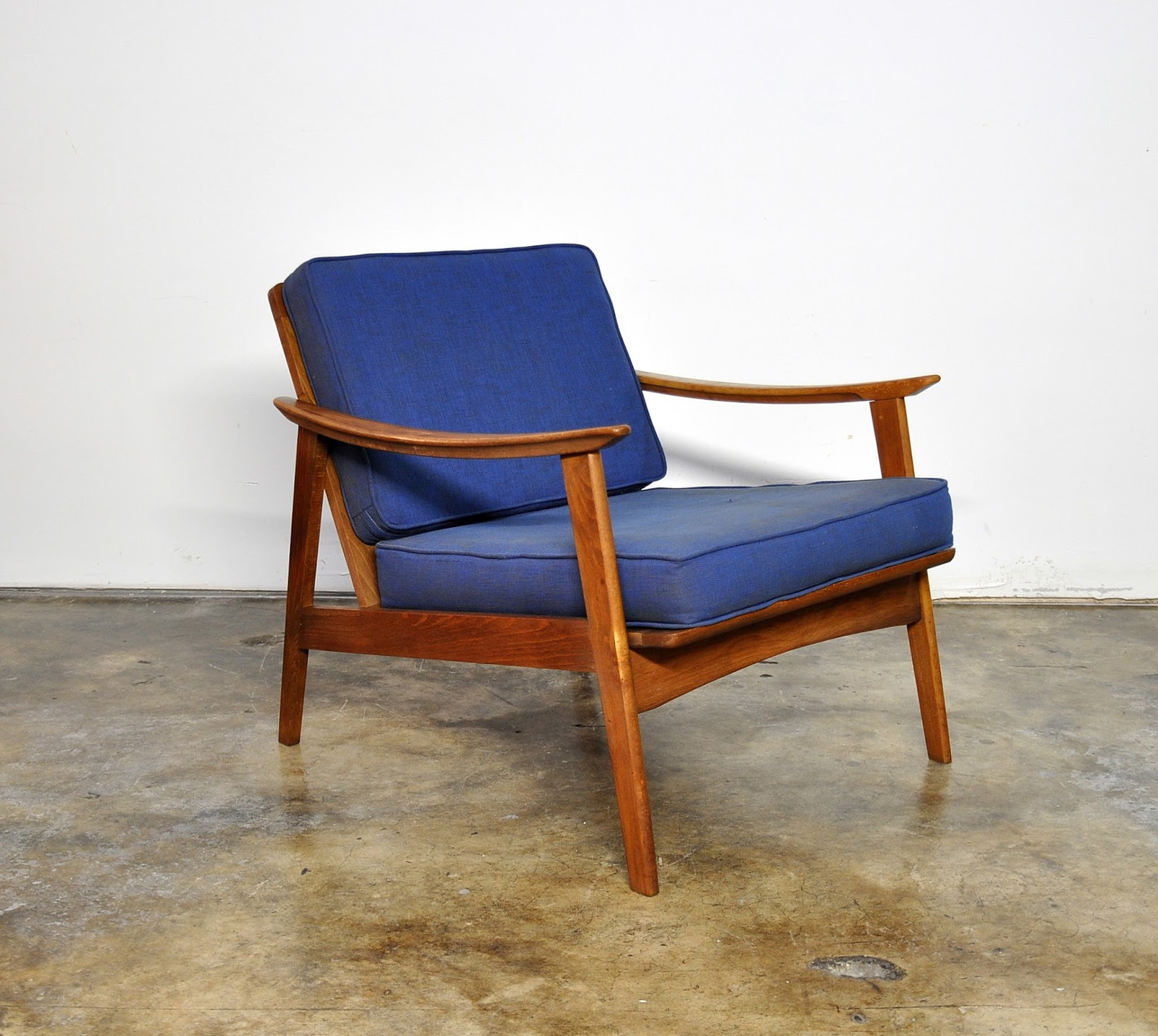 SELECT MODERN: Danish Modern Lounge or Easy Chair
