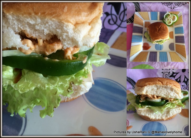 open face d seared tuna burger with wasabi mayonnaise open face ...