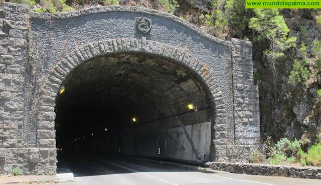 El Cabildo desviará el tráfico de La Cumbre por el sur o el Refugio de El Pilar por las obras del túnel viejo