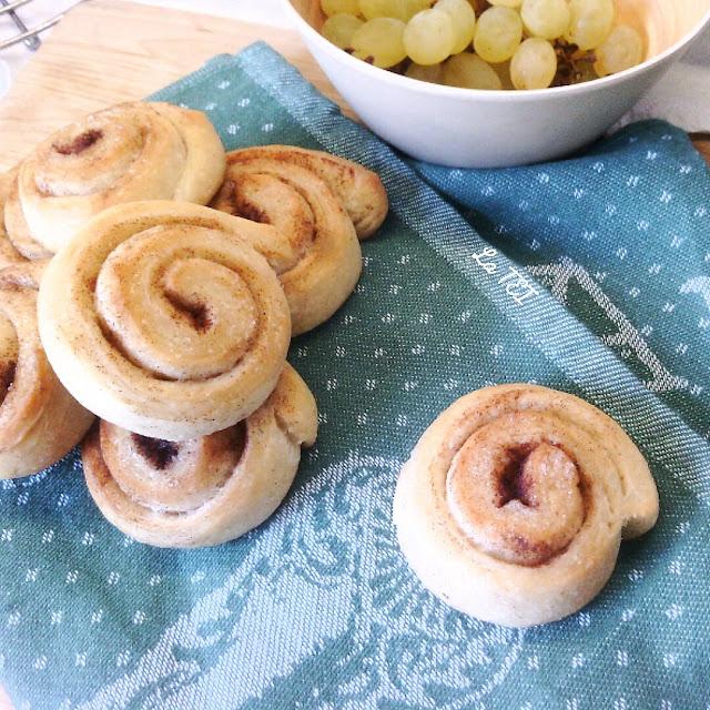 Cinnamon roll con lievito madre