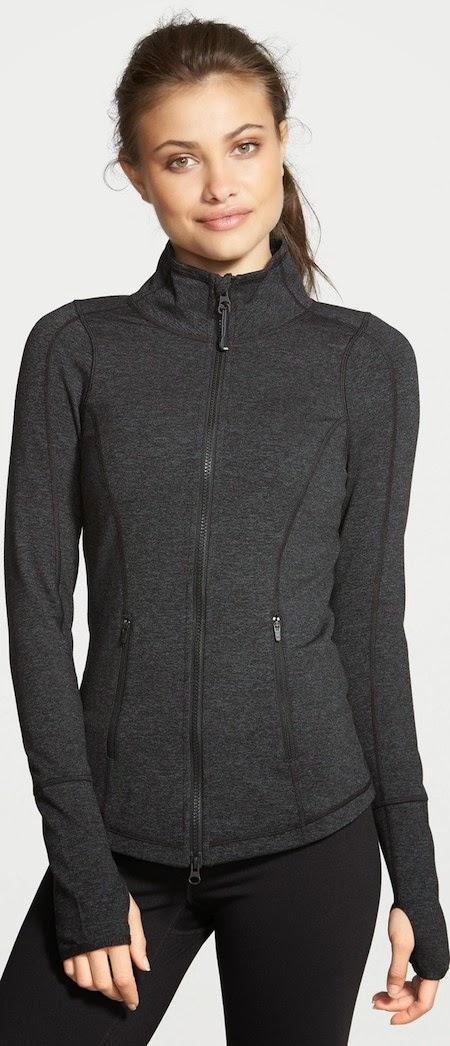 Zella 'Deja' Cross Dye Jacket