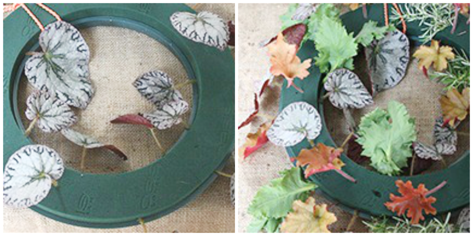 Ioanna's Notebook - DIY Floral Wreath - Step 2