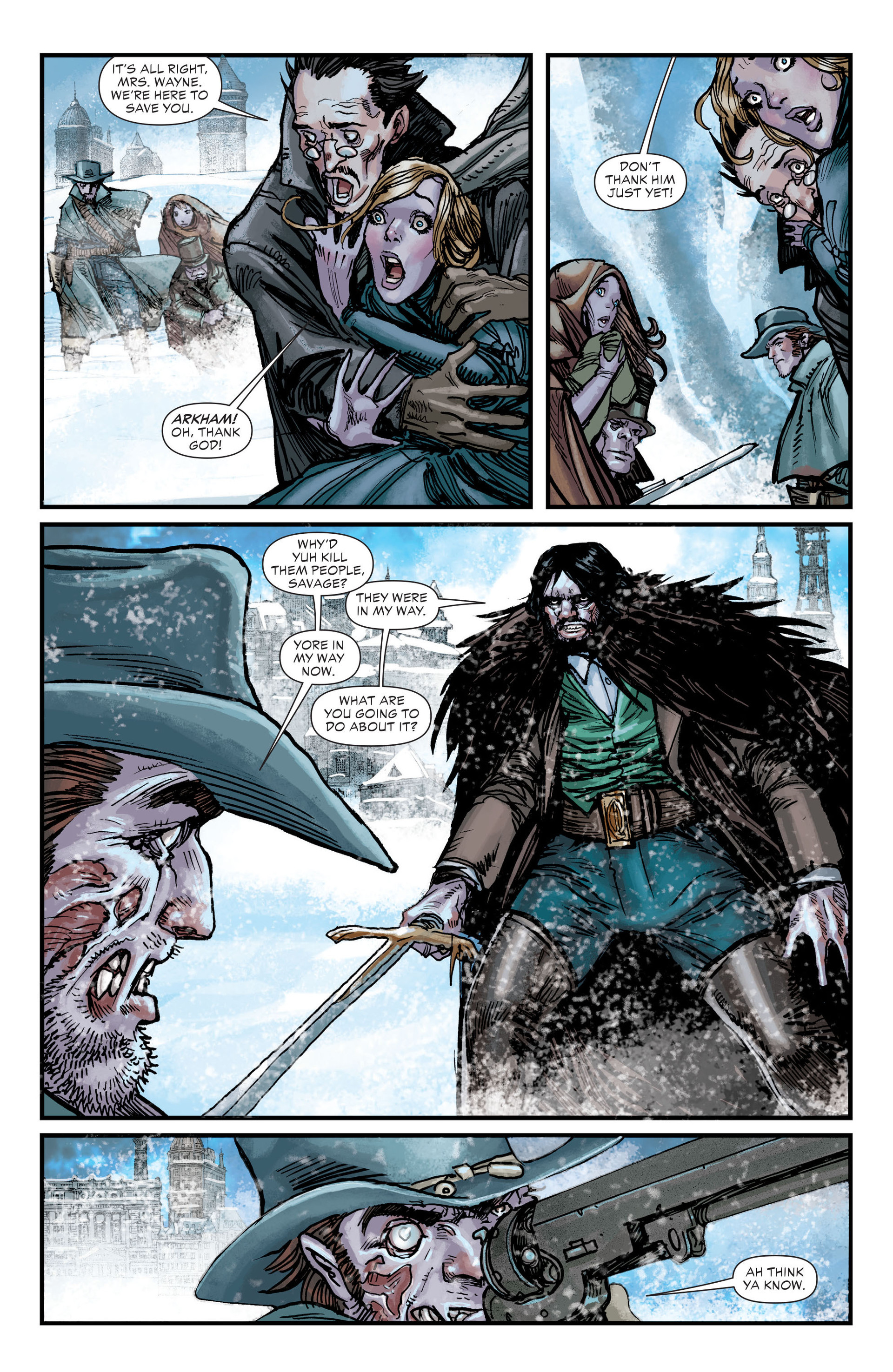 Read online All-Star Western (2011) comic -  Issue #18 - 14