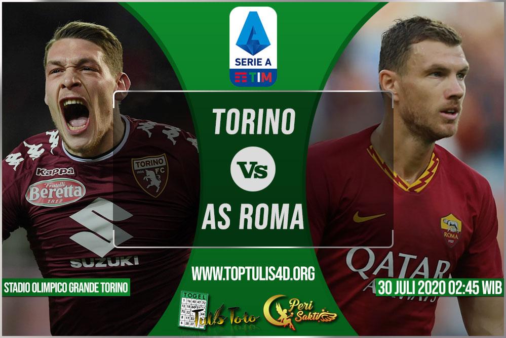 Prediksi Torino vs AS Roma 30 Juli 2020