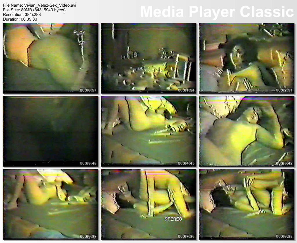 Vivian Velez Sex Video Scandal 79