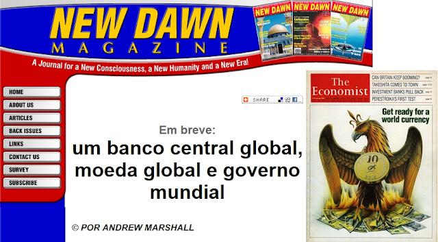 1 governo, 1 banco, 1 moeda