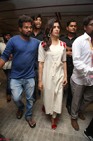 Samantha Ruth Prabhu Smiling Beauty in White Dress Launches VCare Clinic 15 June 2017 085.JPG