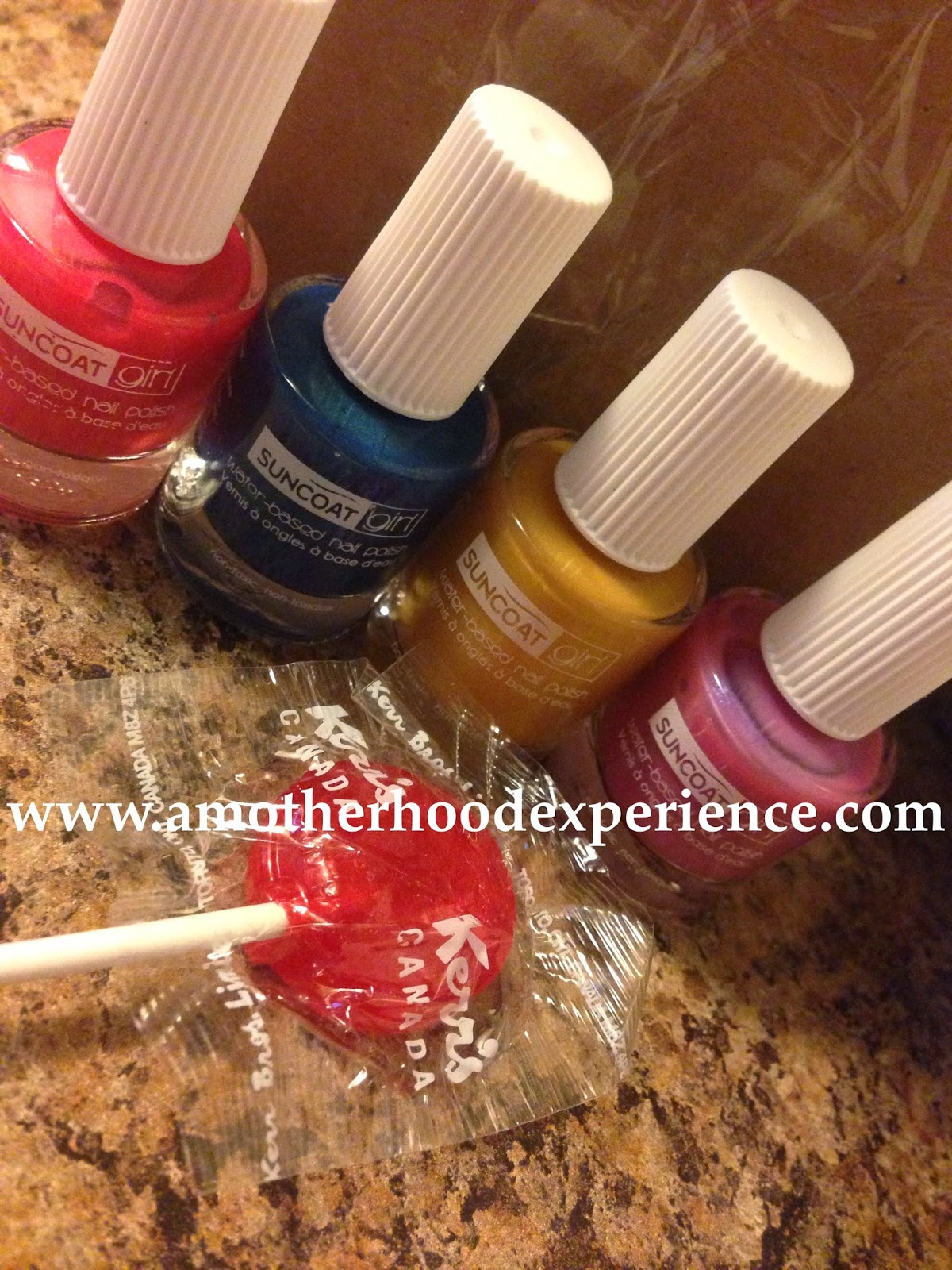 Suncoat Girl Kids Nail Polish ~ A MotherHood Experience