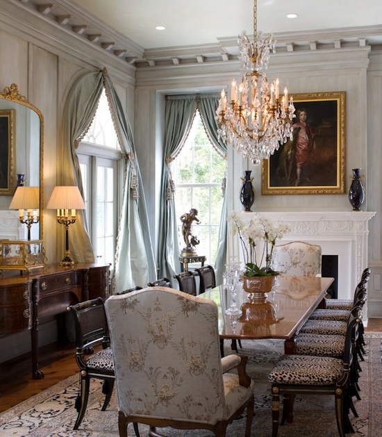 Elegant Dining Rooms: The Elegant Chateau: What's New At The Chateau
