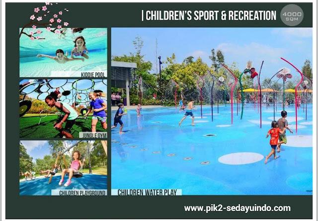 Tokyo Riverside Apartment PIK 2 Children Recreation
