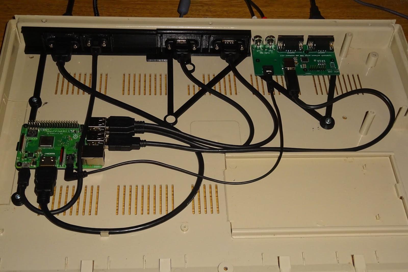 Tynemouth Software: Amiga 500 USB keyboard with Raspberry Pi 3