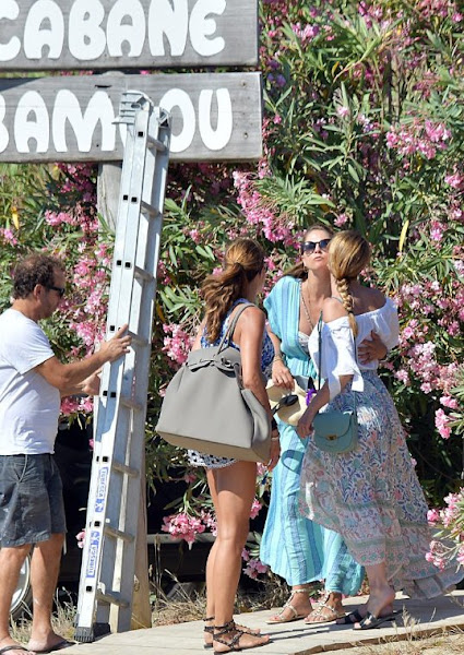 Princess Madeleine held a party for Chris O'Neill at the Cabane Bambou in St. Tropez
