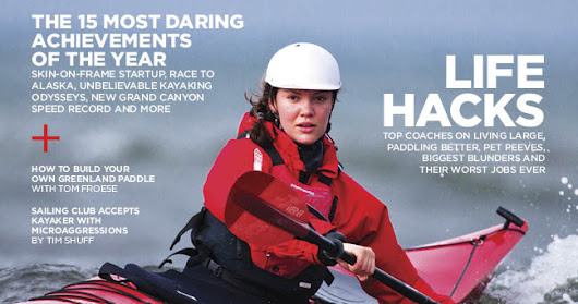 Online Issues of Adventure Kayak and Kayak Angler Magazine