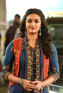 Keerthy Suresh with Cute and Lovely Smile in Sarkar 1